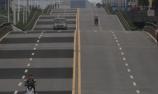 重庆波浪形公路有刺激腾空感