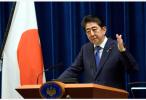 日本首相安倍晋三启程访问欧洲,将会晤荷英首相