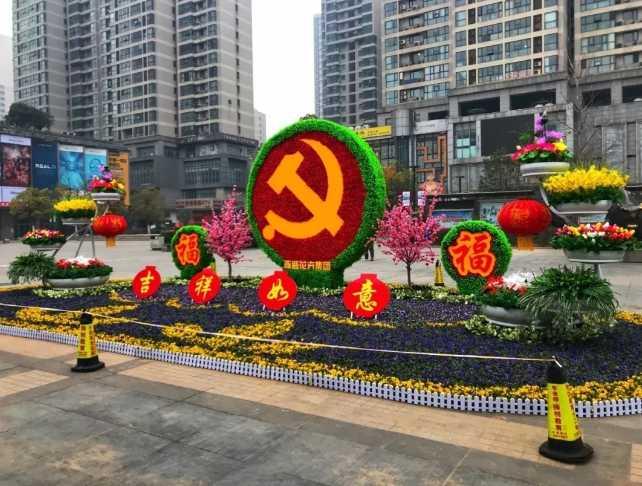 """郑州二七""""年味夜景""""亮起来 让春节""""更有仪式感"""""""