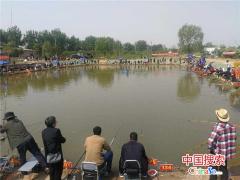 河南省会新闻工作者钓鱼邀请赛落幕 200名新闻工作者参赛