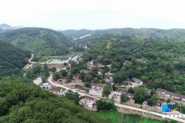 河南宝丰:翠绿盎然小山村