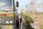 """河南郏县:5万亩绿化植物浇水""""解渴"""""""