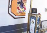 泉山房産服務中心讓噴繪宣傳畫扮靚小區 助推文明創建