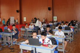 """【图片新闻】第十五届全国""""NOC""""智能机器人比赛在徐州火热开赛"""