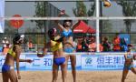 全国沙滩排球巡回赛宁夏吴忠站决出冠亚季军