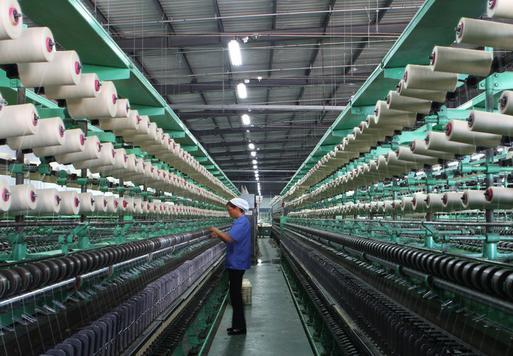 """5月纺织市场行情呈""""V""""型走势 整体小幅下跌"""