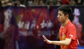 张继科因伤退出中国公开赛单打比赛