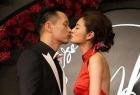 安以轩与老公热吻