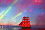 """圣彼得堡""""红帆节"""""""