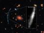 """哈勃望远镜也开挂,借用宇宙""""放大镜""""看清遥远星系"""