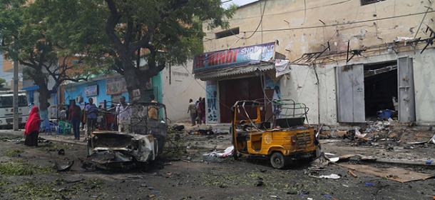 索马里首都发生汽车炸弹袭击 至少5人死亡