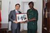 驻几内亚比绍大使金红军会见几比军队总长纳恩坦