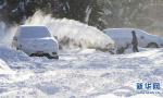 加拿大多伦多遭遇强降雪