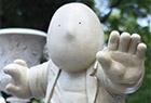 墨西哥公园雕塑呆萌