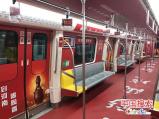 郑州地铁刮起彩陶风 拍照转发朋友圈有好礼