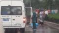 郑州一厢货车撞飞三轮车 一人当场身亡