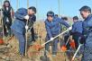 平顶山市四大班子领导参加义务植树活动