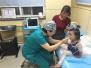 险!3岁女童玩耍摔倒 前牙摔掉、嘴唇撕裂