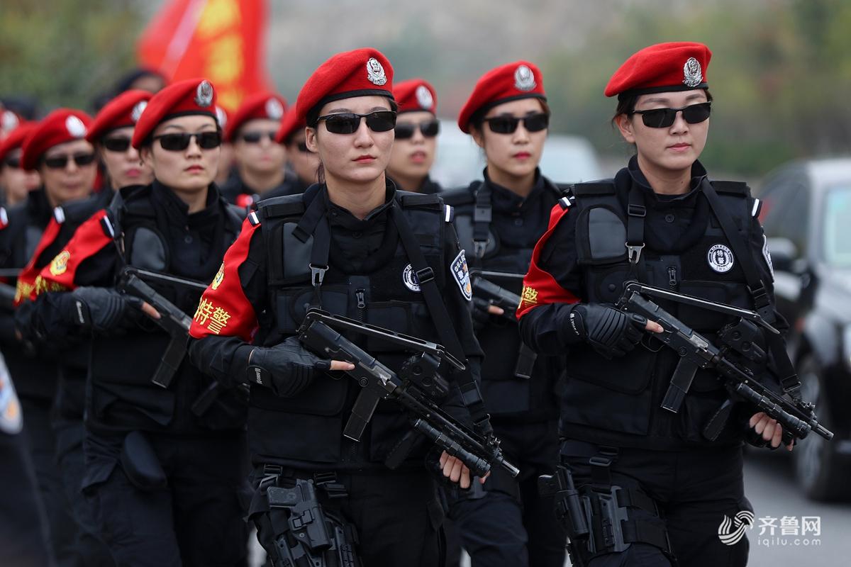 济南特警反恐演练 上演实战对抗