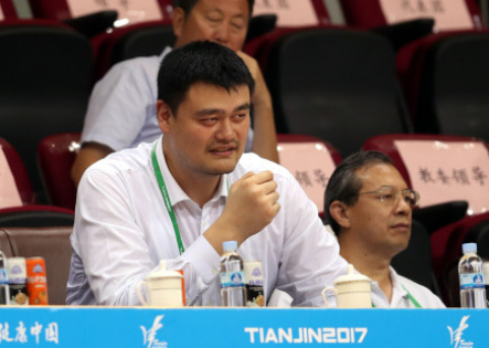 姚明宣佈退出上海東方籃球俱樂部 不再參與經營管理