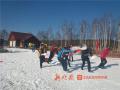 龙江俩雪场首滑开启新雪季 看看北方咋玩雪!