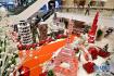 吉隆坡商场用饮料瓶砌成地标建筑 美翻了