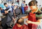 张家口宣化网红美发店 免费为环卫工人理发获点赞