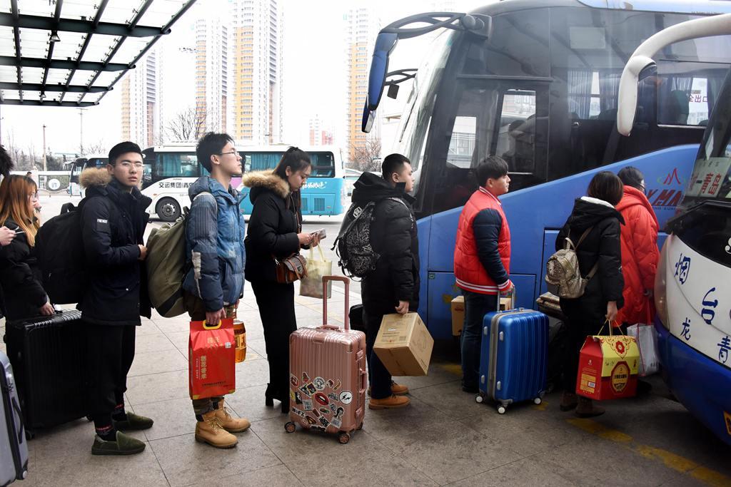 山东:中短途公路运输线路现客流高峰