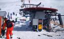滑雪胜地缆车失控