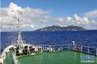 中国海警舰船编队4月23日在中国钓鱼岛领海巡航