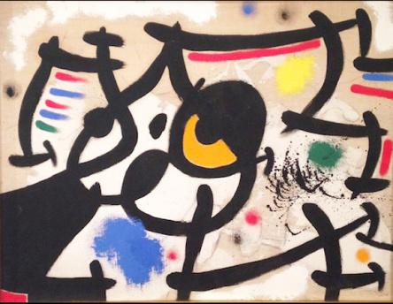 胡安•米罗绘画作品欣赏