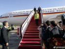德国总理默克尔的专机到北京了 第11次中国之行正式开启
