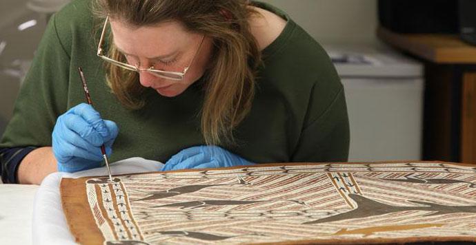 澳大利亚土著艺术家树皮画将将赴华巡展