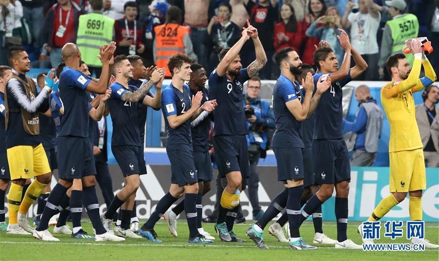 (世界杯)(2)足球——法国队晋级决赛