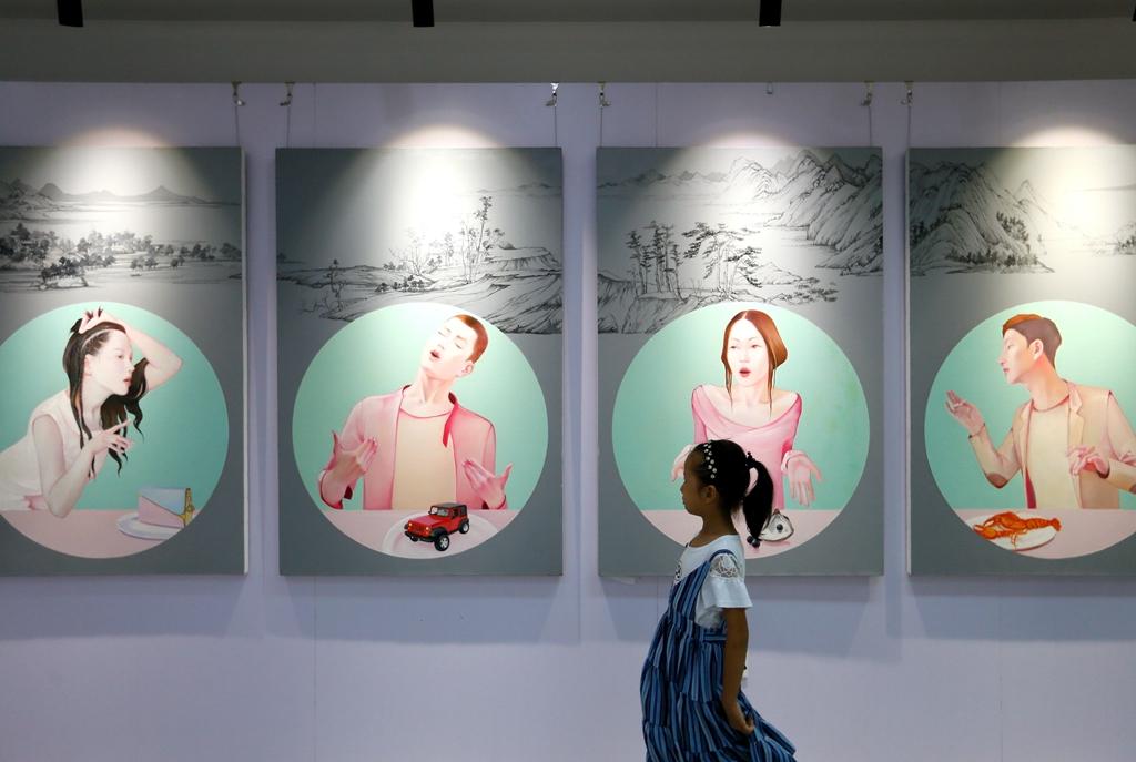 即墨:2018四川美术学院师生优秀作品展