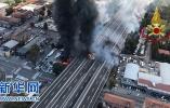 意大利城市博洛尼亚发生油罐车爆炸 已致3死60多伤