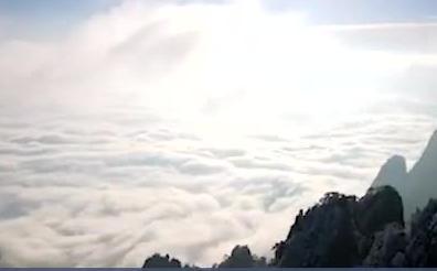 黄山九华山:雪后初晴 美景如画