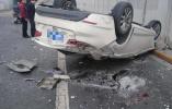 今日北京二环路接连发生车祸 提醒:驾车出行注意安全