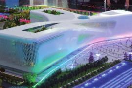 省科技馆新馆明年4月有望建成 带动白沙组团经济发展