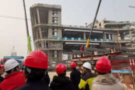 新春走基层丨省科技馆新馆:新春不放假 奋战抢工期