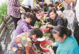 鼓楼区下淀社区1.5万个粽子送居民 浓情端午粽叶飘香