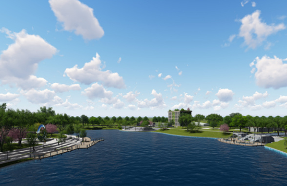 福州城區水系治理配建串珠式主題公園 晉安東區建33個