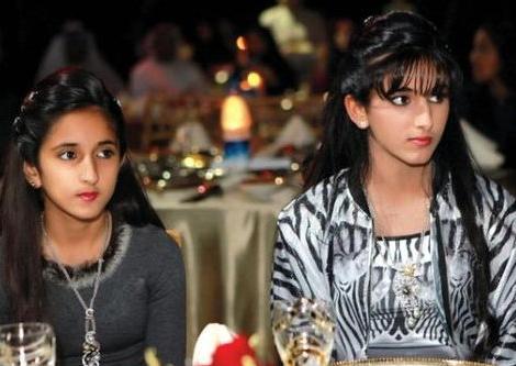 萨拉玛公主是迪拜赫德王妃的第六个孩子,也是长得最精致的一位公主.图片