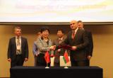北京—明斯克合作商机推介洽谈会在明斯克举行
