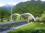 温州在建公路隧道110条 首条双层隧道正在施工