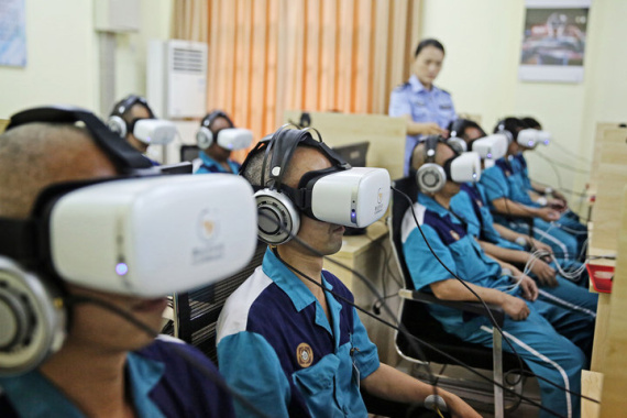 戴上眼镜就能戒毒?杭州一戒毒所用上VR高科技