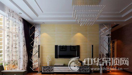 大家想知道客厅欧式吊顶石膏线装修出来的效果是怎样的吗?