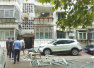历城花园小区疑煤气罐泄漏爆炸 阳台玻璃炸飞伤人