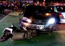 台湾警察闯红灯撞人