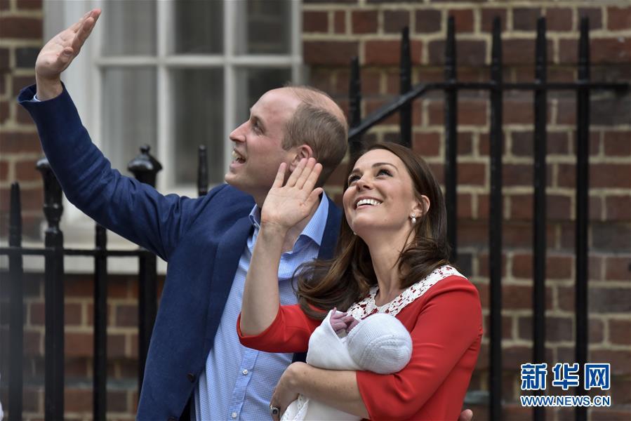 凯特王妃再诞一男孩